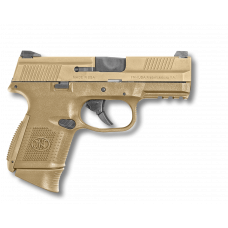 FN FNS-9C 9MM 3.6 inch barrel 17 Round FDE 2-12 Round and 1-17 Round