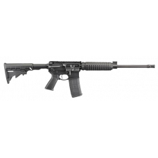 "Ruger AR-556 Optic Ready Rifle 5.56mm NATO 16.1"" Barrel 30rd Magazine - Black"